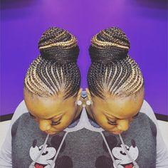 Quick Braids, Fancy Braids, Cool Braids, Black Girl Braids, Braids For Black Hair, Girls Braids, Big Cornrows Hairstyles, My Hairstyle, Natural Hair Updo