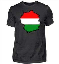Ungarn ungarisch - Geschenk T-Shirt Basic Shirts, Mens Tops, Fashion, Hungary, Back Stitch, Gifts, Moda, Fashion Styles, Fashion Illustrations