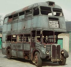 Abandoned Cars, Abandoned Mansions, Abandoned Places, Abandoned Vehicles, Vintage Trucks, Old Trucks, Classic Trucks, Classic Cars, Bus City