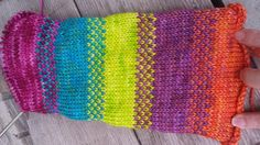 Playing with cheerful colors! Free pattern!   Ewe and Brew
