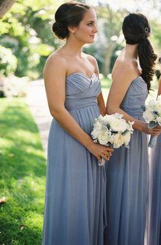 long bridemsiad dresses from shopjoielle.com @weddingchicks
