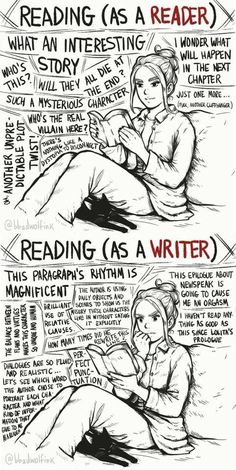 Reading as a reader, reading as a writer