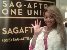 Schatar Sapphira Attends Official Viewing Party Of Screen Actors Guild Awards
