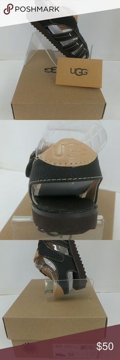 UGG Australia:Toddler's Danial Cage Sandal Size 12 UGG Australia: Toddler's Danial Cage Sandal  Synthetic Imported Rubber sole Synthetic leather upper Hook and loop closure EVA outsole Style Name: T DANIAL Size 12 UGG Shoes Sandals & Flip Flops
