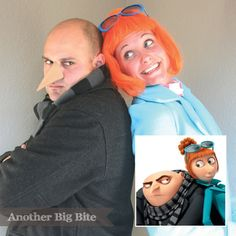 Another Big Bite - Despicable Me Gru & Lucy Costume17