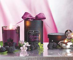 NEW Forbidden Fruits by PartyLite fragrance, Blackberry Boudoir. Available Dec. 19! Partylite.biz/sites/shannon13