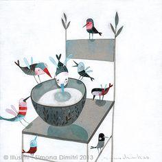 around a cup | simona dimitri
