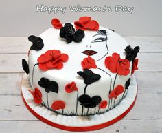 Happy Woman~`s Day Cake