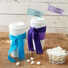 Splendid Homemade Christmas Gift and Decoration Ideas. I have seen these travel mugs at the dollar store!