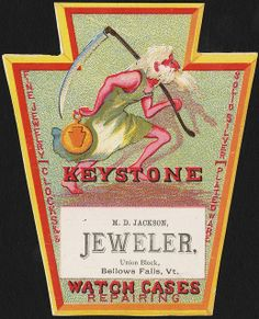 Keystone, fine jewelry, clocks &&, solid silver, plated ware, watch cases, repairing [front] | Flickr - Photo Sharing!