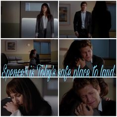Spencer is Toby's safe place to land❤️❤️❤️