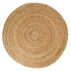 Look no more--you have found the round area rug you have been searching for. This best-selling, transitional jute rug brings a warm, organic touch to so many areas in your home. A great solution for u