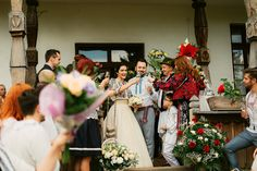 Iulia-Andrei-traditional romanian wedding_land of white deer Modern Traditional, Traditional Wedding, Traditional Dresses, Romanian Wedding, Central And Eastern Europe, Marry Me, Color Patterns, Wedding Decorations, Wedding Ideas