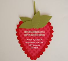 Laine Design: Strawberry Shortcake Party Ideas and Inspiration