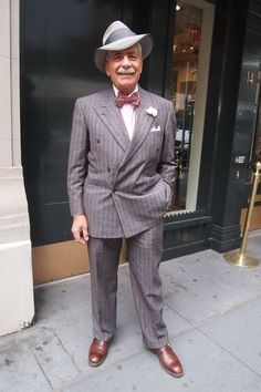 Domenico Spano - one of the all-time best dressed men in New York