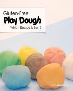 Best DIY Gluten Free Play Dough Recipes