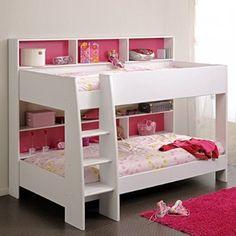 Etagenbett Weiß Inkl Regale + Rückwand + Boden Für Matratzen Stockbett  Doppelstockbett Hochbett Spielbett Kinderbett Kinderzimmer