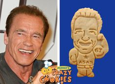20 best celebrity cookies images on pinterest custom cookies