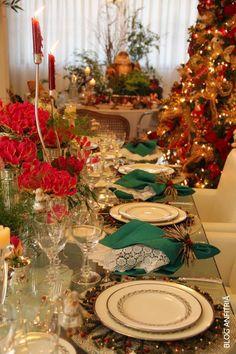 especial decorações e mesas de natal