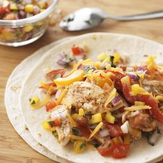 Fajita-Ranch Chicken Wraps. Budget dinner price: $2.05 per serving