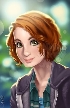 """""""Charlie"""" ~ Supernatural fan art of Felicia Day as Charlie Bradbury ~ my fave character andsuch a cute artwork! Supernatural Destiel, Supernatural Charlie, Supernatural Series, Supernatural Cartoon, Supernatural Drawings, Supernatural Bunker, Felicia Day, Charlie Bradbury, Dean Winchester"""
