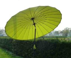 cool Shanghai Garden Parasol 2.7M Bright Lime Green Colour Patio Set Shade Crank Buy this and much more home & living products at http://www.woonio.co.uk/p/shanghai-garden-parasol-2-7m-bright-lime-green-colour-patio-set-shade-crank/