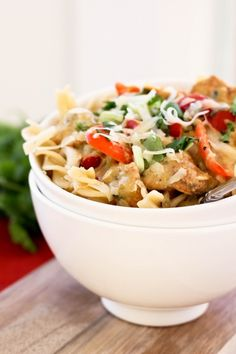 Spicy Mexican Chicken Pasta by Bake Your Day