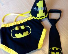 Newborn Batman Outfit Baby Boy Newborn Crochet by HatCharacters