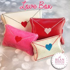 Envelope Love StitchBox - FOUR Sizes INCLUDED!!!