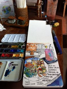 Brunch @ KAFE by PaulArtSG, via Flickr, Paul Wang