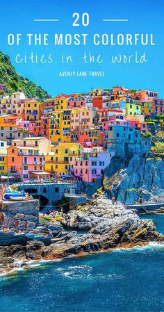 Click through to see some of the most colorful cities in the world!