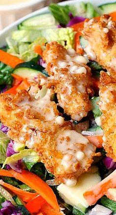 Applebee's Chicken Oriental Salad Copycat Recipe ~ this salad is the bomb!!