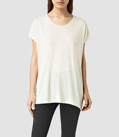 Explore our range of women's tops & shirts and classic blouses. Shop the latest arrivals with free delivery on UK orders over & free UK returns. Boys T Shirts, T Shirts For Women, Silk T Shirt, Paint Stripes, All Saints, Crop Tank, Shop Now, Tie Dye, Tunic Tops