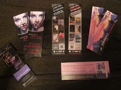 Very nice example of an author's bookmark.