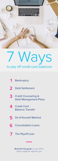 You refinance your mortgage, so why not your credit card payments? With Payoff, you have bank-level security without the bank attitude. Apply now!   https://www.payoff.com/life/money/7-ways-to-pay-off-your-credit-card-balances/?utm_source=pinterest&utm_medium=psocial&utm_campaign=1506_socPIN&utm_content=98.1P