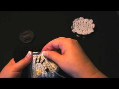 How to Sew a Crochet Applique onto a Hat, by Crochet Geek.