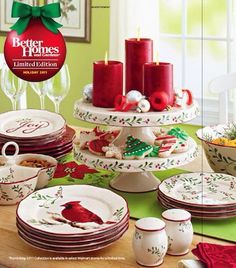 Dine Like A King: Better Homes And Gardens Christmas Dishes, 2010 2014 And