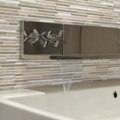 Peel And Stick Decorative Wall Tile Trim Smart Tiles Bellagio Blanco 1006 Inw X 10 Inh Peel And Stick