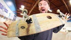 THE INCREDIBLE WINE BARREL SKATEBOARD!   YOU MAKE IT WE SKATE IT EP 163 – Braille Skateboarding: Braille Skateboarding – Today we skate a…