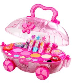 Disney Princess toys, children's cosmetics girl makeup box set non-toxic washable girls birthday gift Little Girl Toys, Baby Girl Toys, Kids Toys, Toys For Little Girls, Makeup Kit For Kids, Kids Makeup, Barbie Doll House, Barbie Dolls, Hello Kitty Rooms