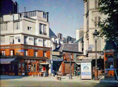 Photos de Paris en couleur en 1900 photo histoire bonus