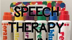 Speech Sprouts talks about the uses for Dot Markers in Speech Therapy in this post.