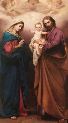 JOSE Y MARÍA, NOS ACERCAN EL MÁS DULCE REGALO DE INTENSO AMOR !!! JESÚS, EL SEÑOR Catholic Pictures, Pictures Of Jesus Christ, Catholic Art, Catholic Saints, Religious Images, Religious Art, Christian Paintings, Images Of Mary, Intense Love