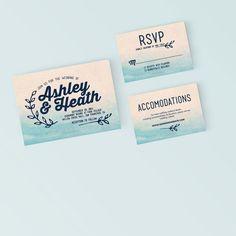 8b2ea345092 Printable Wedding Invitation Set - Cute Bright Invite