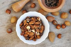 Rich in protein and monounsaturated fats (the good kind!), this Indian-spiced nut #snack will not only stave off hunger for hours, but also boost your #beauty!  More #healthy #food #tips on #DailyBeauty - http://bit.ly/waXtpj