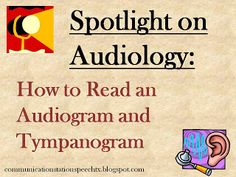 Spotlight on Audiology: How to read an Audiogram and Typmpannogram!