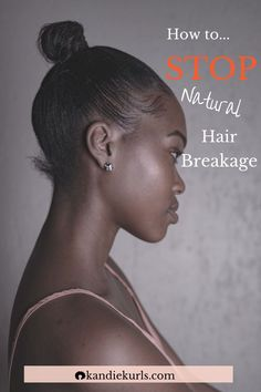 Regardless of how breakage happens, there are essentially two reasons for the occurrence. Though these reasons can have a dramatic effect on your stands if not properly treated, they are both remarkably easy to correct. To find out more keep reading... #howto #stop #hairbreakage #naturalhair #remedies #repair #curly #moisture #routine #regimen How To Grow Your Hair Faster, How To Grow Natural Hair, Natural Hair Styles, Stop Hair Breakage, Beauty Tips, Beauty Hacks, Natural Hair Mask, Healthy Hair Tips, Hair Loss Remedies