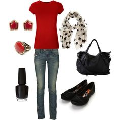 Casual outfit, cute