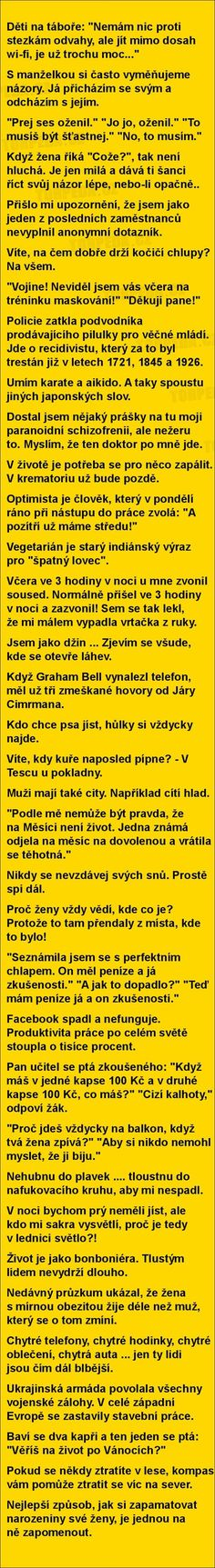 (6086) Doručené – Seznam Email Funny Texts, Funny Jokes, Jokes Quotes, Memes, Try Not To Laugh, Good Jokes, Funny Photos, Picture Quotes, The Funny