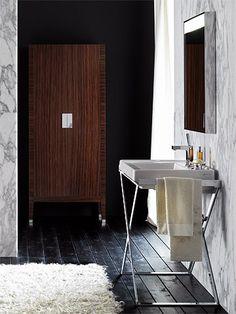 Collection de salle de bains CARAT - Lavabos, céramique - 70 cm - ALLIA innove pour vous depuis 1892